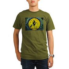 Scottie Witch Broom T-Shirt