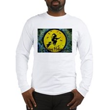 Scottie Witch Broom Long Sleeve T-Shirt