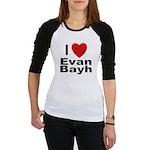 I Love Evan Bayh Jr. Raglan