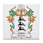 Lovett Coat of Arms Tile Coaster