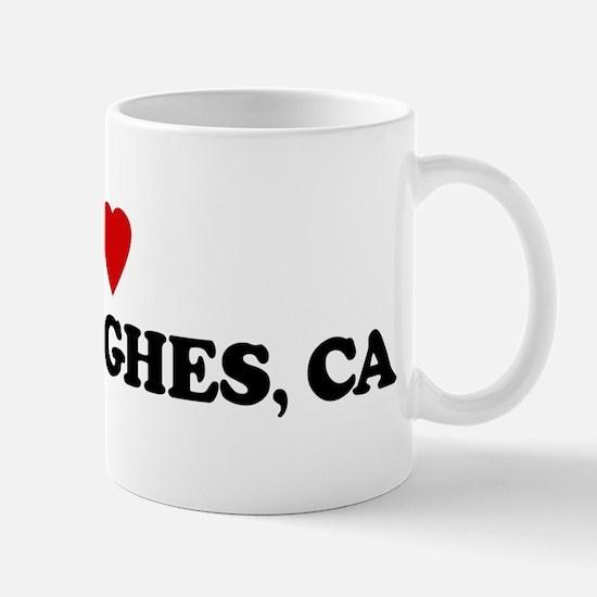 I Love LAKE HUGHES Mug