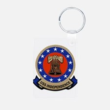 USS Independence Keychains