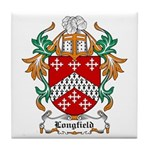 Longfield Coat of Arms Tile Coaster