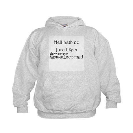 Short People Hell Fury Kids Hoodie