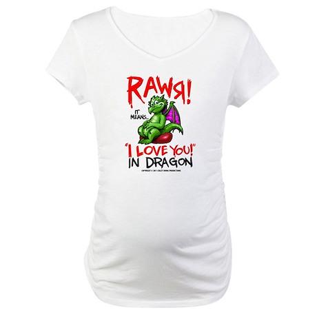 Rawr Maternity T-Shirt