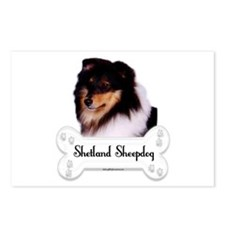 Sheltie 5 Postcards (Package of 8)
