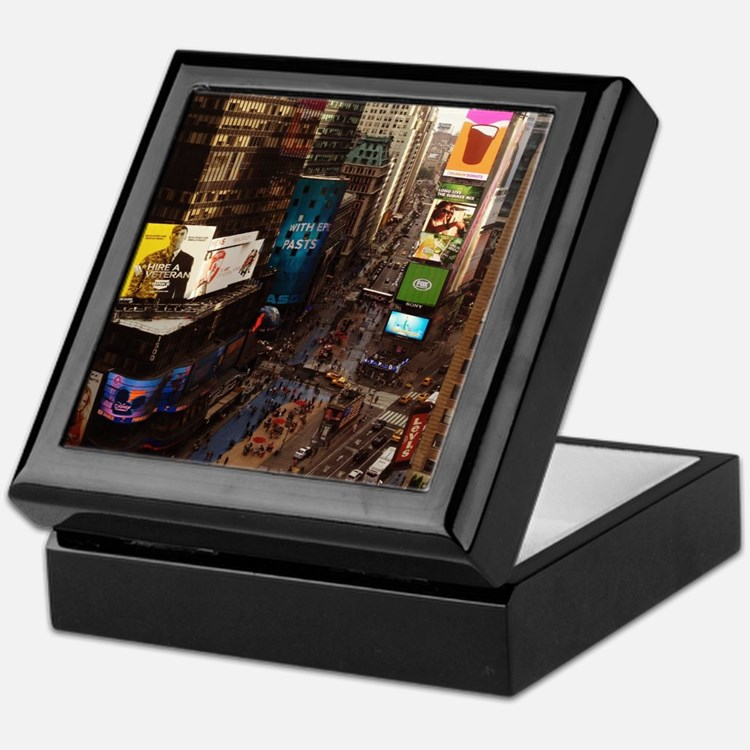 room with a view... TIMES SQUARE Keepsake Box