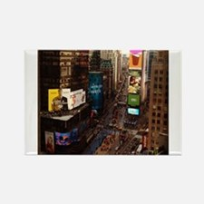 room with a view... TIMES SQUARE Rectangle Magnet