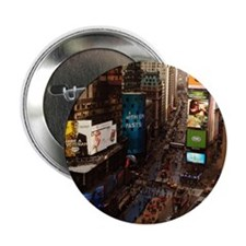 """room with a view... TIMES SQUARE 2.25"""" Button"""