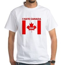 I hate canada t shirts shirts tees custom i hate for Personalized t shirts canada