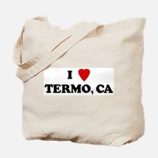 I Love TERMO Tote Bag