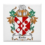 Locke Coat of Arms Tile Coaster