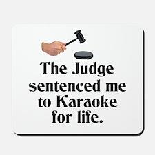 The Judge Mousepad