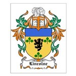 Lincolne Coat of Arms Small Poster