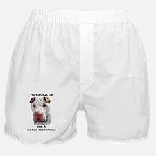 shar pei wrinkles Boxer Shorts