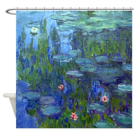 Monet - Water Lilies Shower Curtain