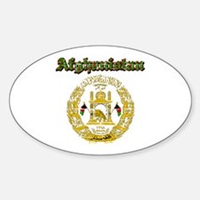 Afghanistan Coat Of Arms Decal