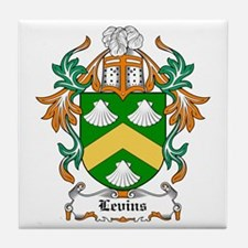 Levins Coat of Arms Tile Coaster