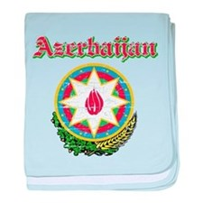 Azerbaijan Coat Of Arms baby blanket