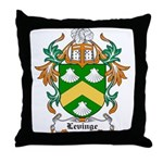 Levinge Coat of Arms, Family  Throw Pillow
