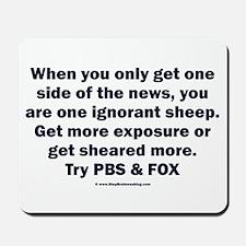Ignorant Sheep Mousepad