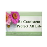 Be Consistent Rectangle Magnet (100 pack)