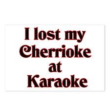 I Lost My Cherrioke Postcards (Package of 8)