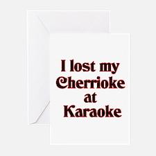 I Lost My Cherrioke Greeting Cards (Pk of 10)