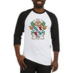 Leslie Coat of Arms Baseball Jersey