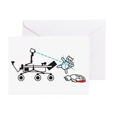 Curiosity Killing Cats Greeting Cards (Pk of 20)