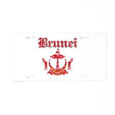 Brunei Coat Of Arms Aluminum License Plate