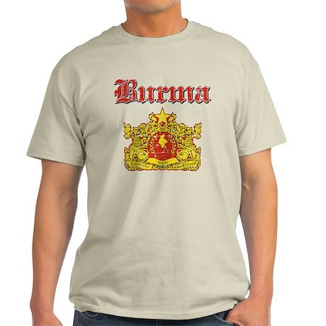 Burma Coat Of Arms Light T-Shirt