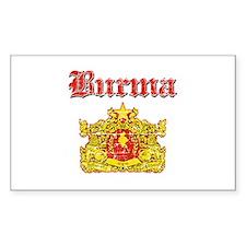 Burma Coat Of Arms Decal
