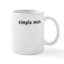 simple man Mug