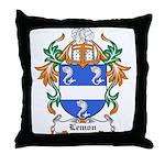 Lemon Coat of Arms, Family Cr Throw Pillow