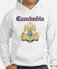 Cambodio Coat Of Arms Hoodie