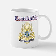 Cambodio Coat Of Arms Mug