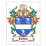 Lemon Coat of Arms, Family Cr Small Poster