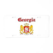 Georgia Coat Of Arms Aluminum License Plate