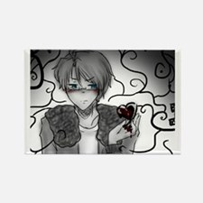 Anime 'Heartless' Rectangle Magnet
