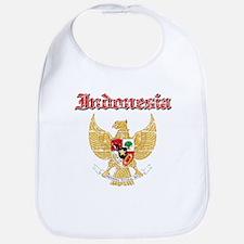 Indonesia Coat Of Arms Bib
