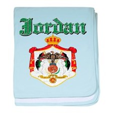 Jordan Coat Of Arms baby blanket
