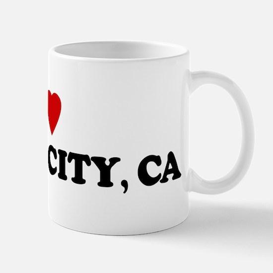 I Love TEMPLE CITY Mug