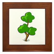 Tree Framed Tile