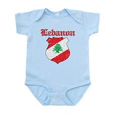 Lebanon Coat Of Arms Infant Bodysuit