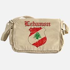 Lebanon Coat Of Arms Messenger Bag