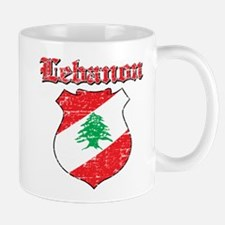 Lebanon Coat Of Arms Mug