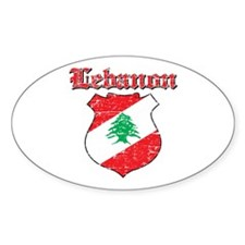 Lebanon Coat Of Arms Decal