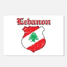 Lebanon Coat Of Arms Postcards (Package of 8)