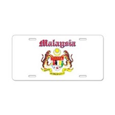 Malaysia Coat Of Arms Aluminum License Plate